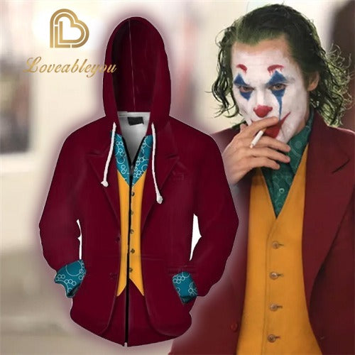 Limited Edition - Joker 2 Unisex Zipped Hoodie