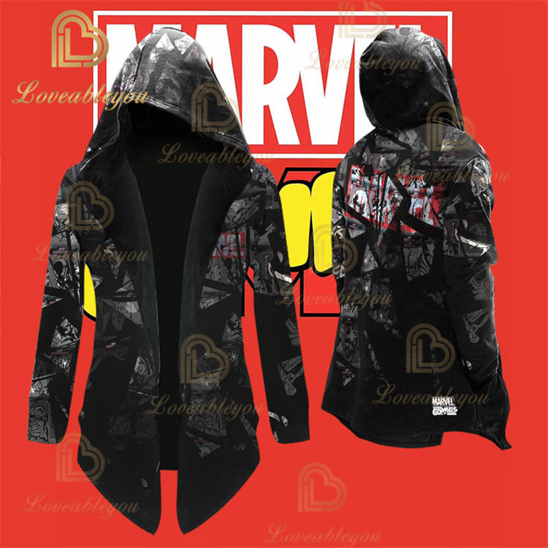 Limited Edition - Superhero Spiderman Cosplay Overcoat