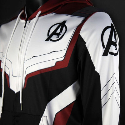 AVENGERS Endgame QUANTUM REALM SUIT - Zip Up Sweatshirt