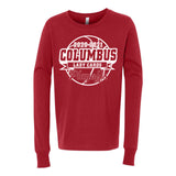 2020-2021 Columbus Girls Basketball Playoff Youth Long Sleeve Shirt