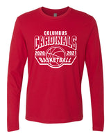 2020-2021 Columbus Basketball Long Sleeve Shirt