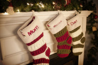 Christmas Stocking Embroidery