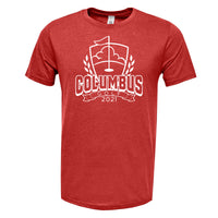 2021 Columbus Golf TriBlend Shirt