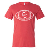 Columbus Cardinals Football Adult Tri Blend Shirt