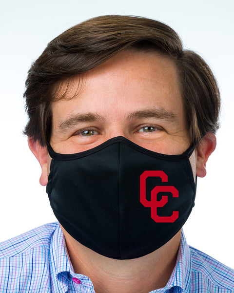 Mask with CC Logo