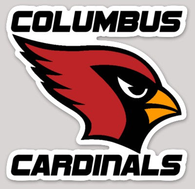 Columbus Cardinals Decal