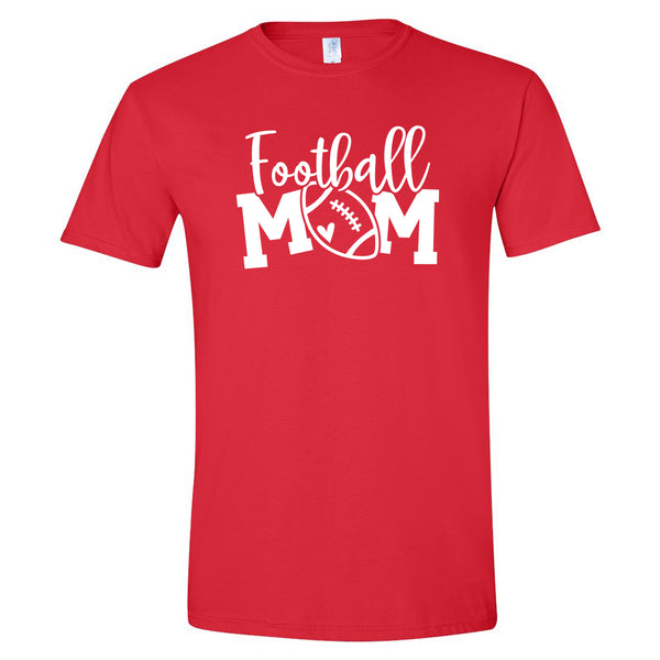 Cursive Football Mom Shirt
