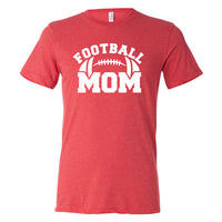 Football Mom Tri Blend Shirt