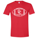 Columbus Cardinals Football Adult Shirt