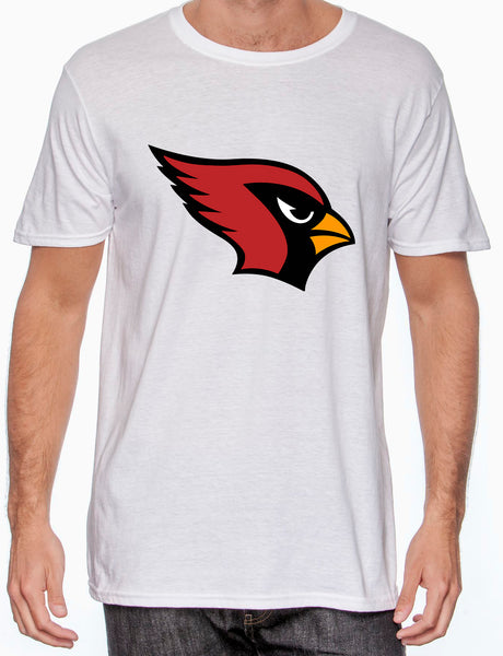 White Shirt with Cardinal