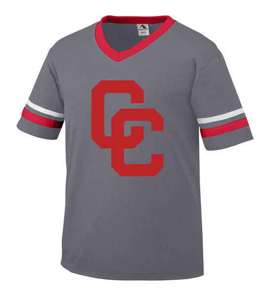 Graphite Jersey with Red CC Logo