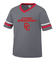 Graphite Jersey with Red CTOWN BREAKDOWN CC Logo