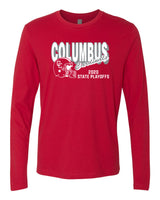 2020 Columbus Football Playoff Long Sleeve Shirt