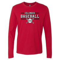 2021 Columbus Baseball Playoff Long Sleeve Shirt