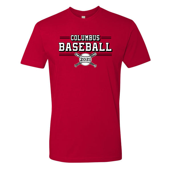 2021 Columbus Baseball Playoff Short Sleeve Shirt