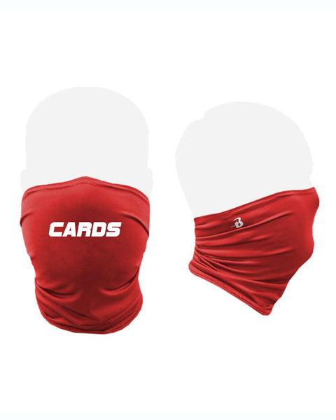 Neck Gaiter with Cards Logo