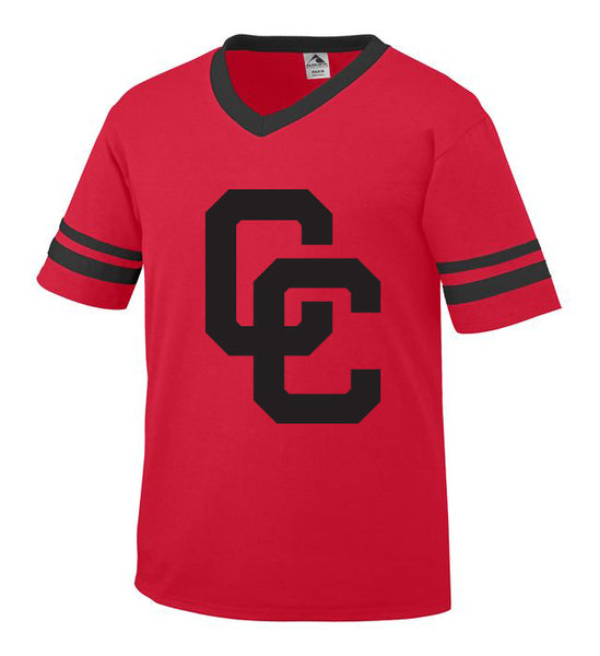 Red Jersey with Black CC Logo