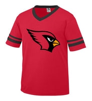 Youth Red and Black Jersey with Cardinal Logo