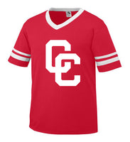 Red Jersey with White CC Logo