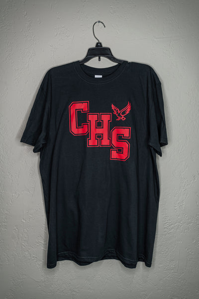 Youth CHS Shirt with Cardinal