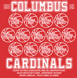 2020-2021 Columbus Boys Basketball Playoff Long Sleeve Shirt