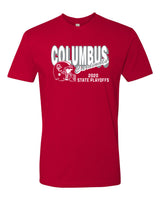 2020 Columbus Football Playoff Short Sleeve Shirt