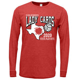 2020 Columbus Volleyball Playoff TriBlend Long Sleeve Shirt