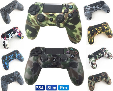PS4 Silicone Camouflage Grip Cover PS4