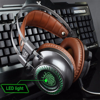 V2 LED Noise Cancelling Headphones