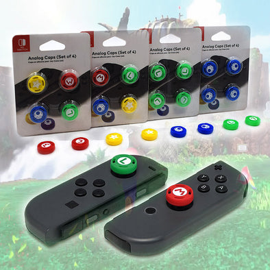 4Pcs Stick Caps Analog Caps for Nintendo Switch Joy-Con Controller