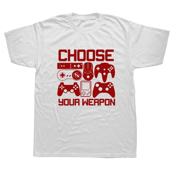 Choose Your Weapon Gamer T-Shirt