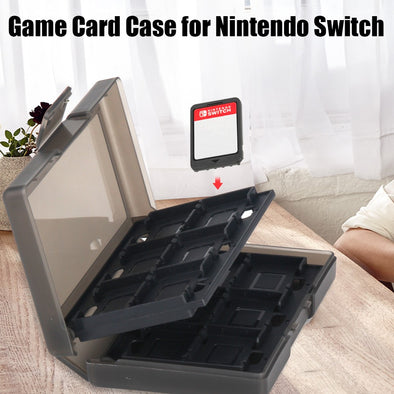 24 Game Card Case for Nintendo Switch and 6 Controller Stick Heads