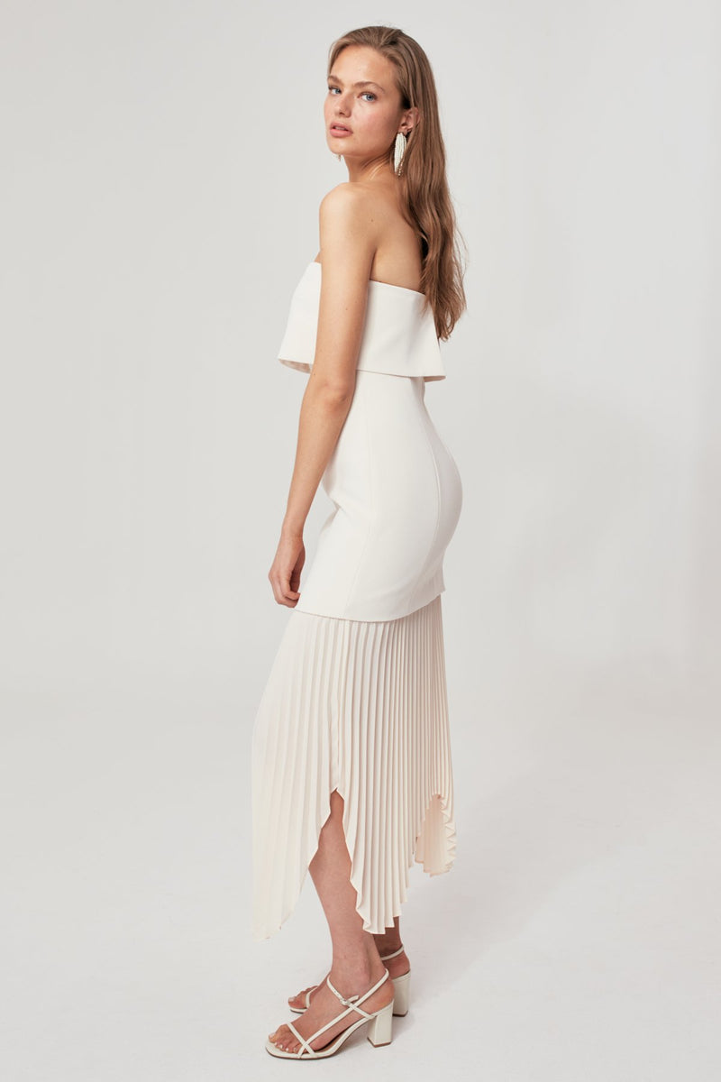 Take Seriously Cream Dress