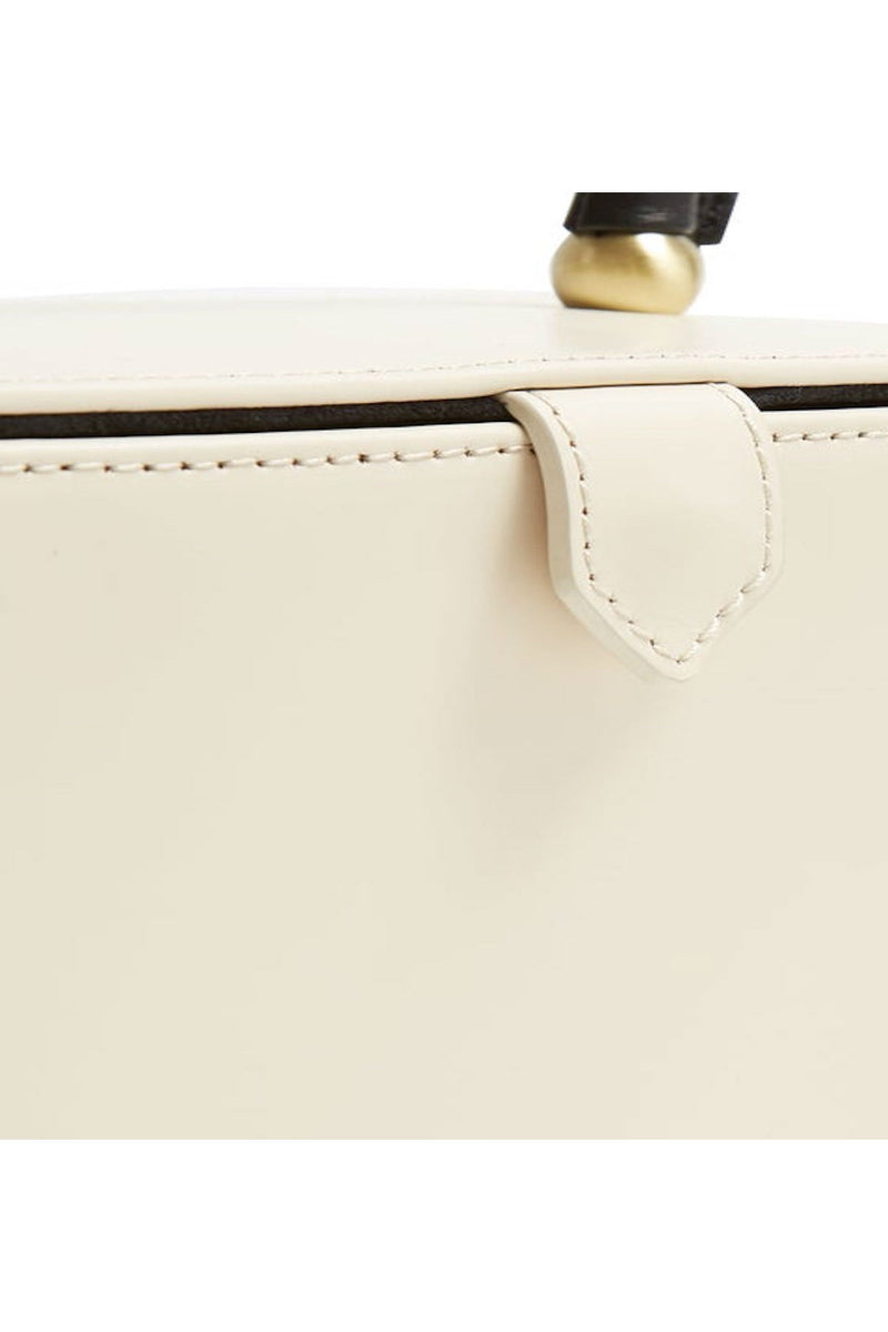 elegant and chic cream white box bag