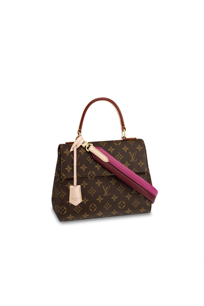 Designer LV monogram Cluny BB bag for Rent Canada