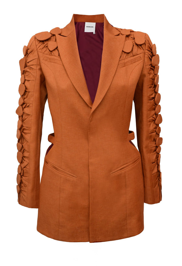 orange blazer for rent