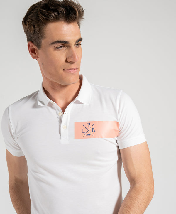 Polo Edge Blanco