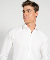 Polera Oxford Blanco