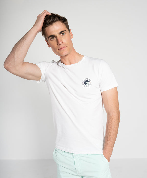 Camiseta Rails Blanco