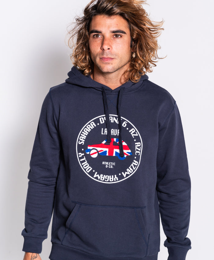 Sudadera capucha LONDON marino
