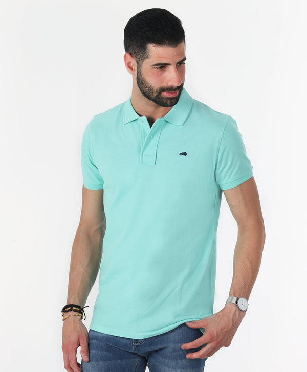 Polo Basico Slim Fit Ice Green