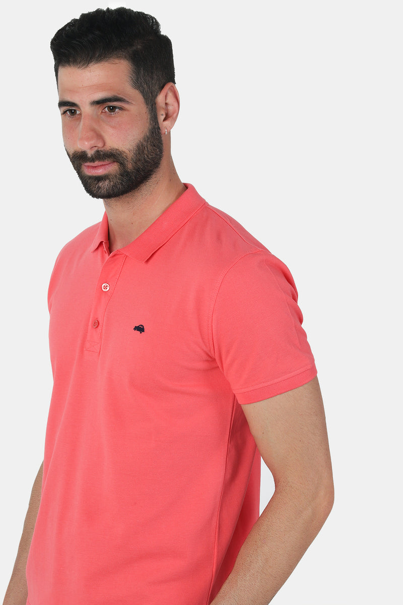 Polo Regular fit Coral