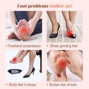 Soft Honeycomb Forefoot Pain Relief [BUY 1 GET 2 FREE + FREE SHIPPING]