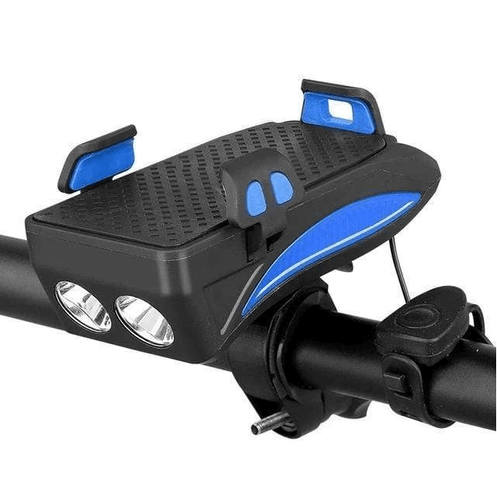 4 IN 1 BIKE LIGHT AND PHONE HOLDER