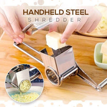 Load image into Gallery viewer, Stainless Steel Cheese Vegetables Grater
