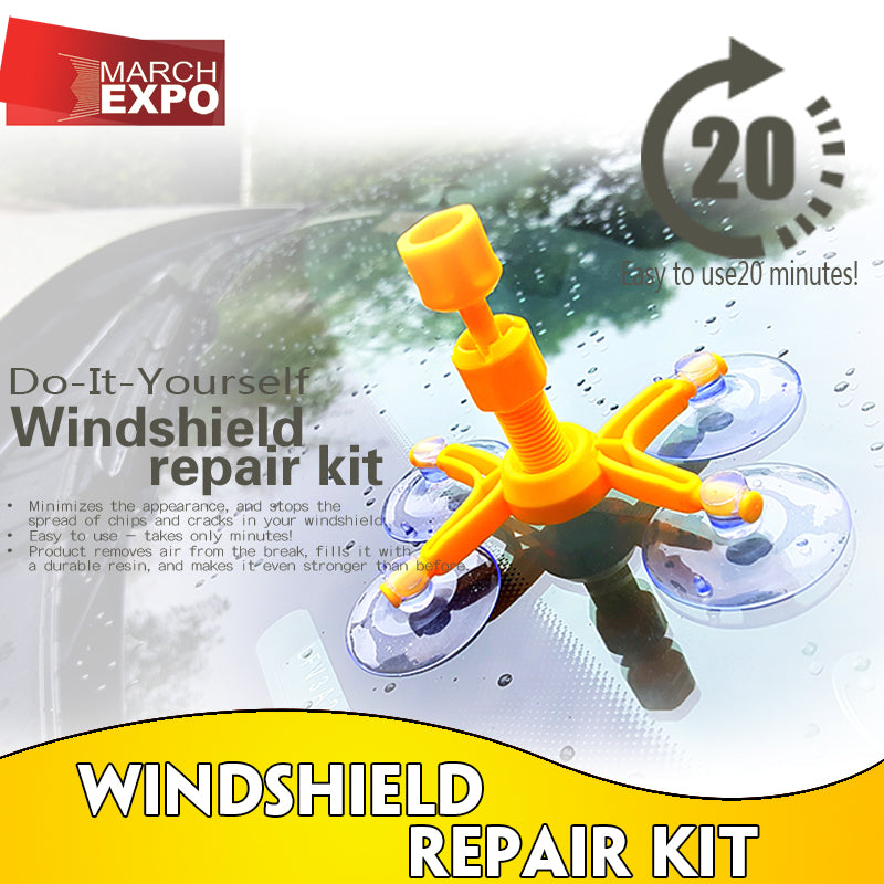 Car Glass Repair kit [PROMO: FREE SHIPPING NATIONWIDE]