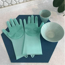Load image into Gallery viewer, Magic Silicone Dish Washing Gloves