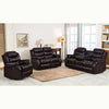 6059 - Reclining Sofa, Loveseat and Chair Set - Black