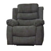 6059 - Reclining Chair - Grey Fabric
