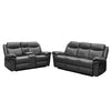8005 - Manual Recline Sofa, Loveseat - Grey